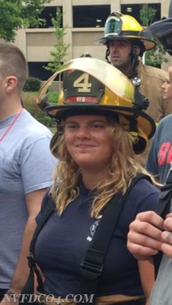 NVFD Firefighter Autumn Marie Jenkins - We will never forget!