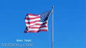 To all 2,996 people that lost their lives on 9/11, we will never forget!